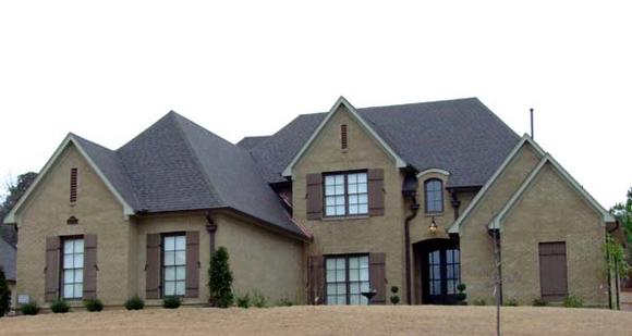 House Plan 63712 with 4 Beds, 3 Baths, 3 Car Garage Elevation