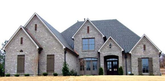House Plan 63713 with 4 Beds, 4 Baths, 3 Car Garage Elevation