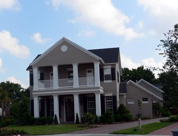 Colonial, Plantation House Plan 64707 with 4 Beds, 6 Baths, 3 Car Garage Elevation
