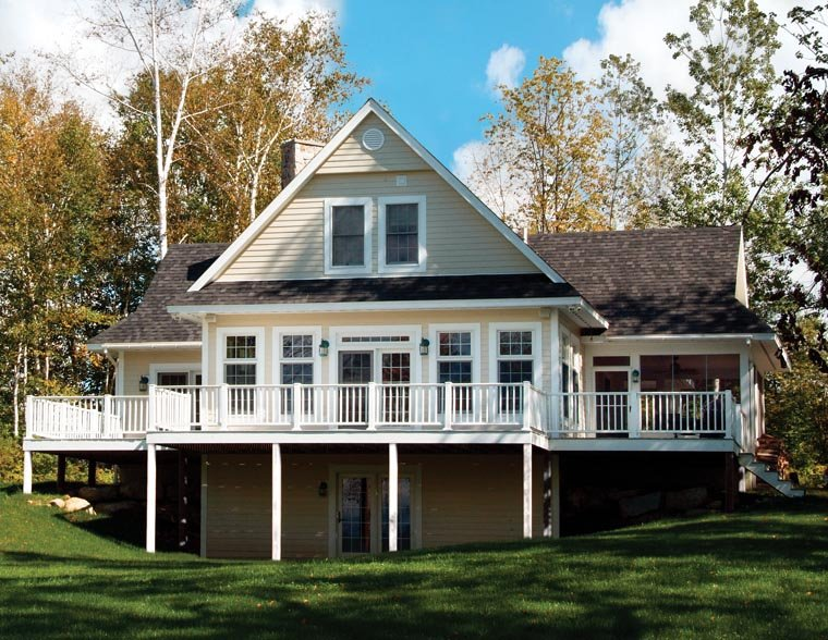 Coastal, Country, Craftsman, Traditional House Plan 65380 with 3 Beds, 2 Baths Picture 1