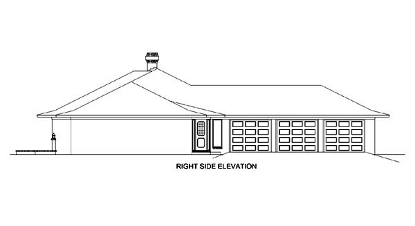 Contemporary, Prairie, Southwest House Plan 65606 with 4 Beds, 4 Baths, 3 Car Garage Picture 2