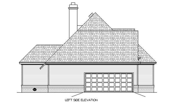 European, One-Story House Plan 65616 with 3 Beds, 3 Baths, 2 Car Garage Picture 1