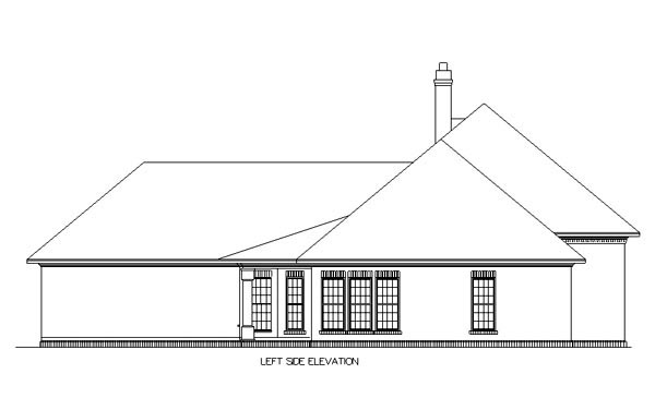 Country, One-Story, Traditional House Plan 65697 with 3 Beds, 2 Baths, 2 Car Garage Picture 1