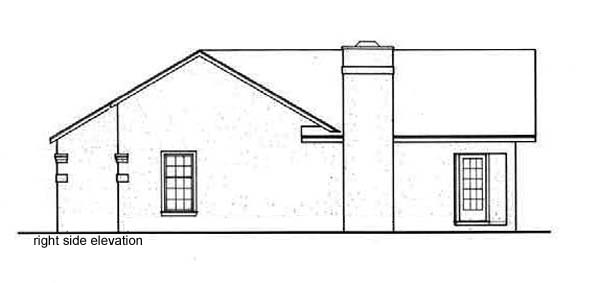 Florida, One-Story Multi-Family Plan 65708 with 4 Beds, 4 Baths Picture 2