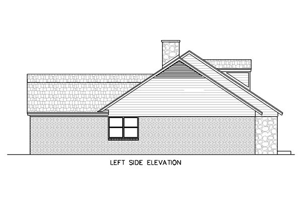 One-Story, Ranch House Plan 65769 with 4 Beds, 3 Baths, 2 Car Garage Picture 2