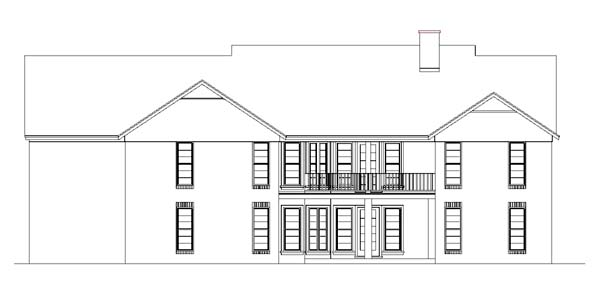 One-Story, Ranch House Plan 65769 with 4 Beds, 3 Baths, 2 Car Garage Picture 3