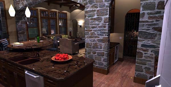 Cottage, Craftsman, European, Tuscan House Plan 65872 with 4 Beds, 4 Baths, 3 Car Garage Picture 10