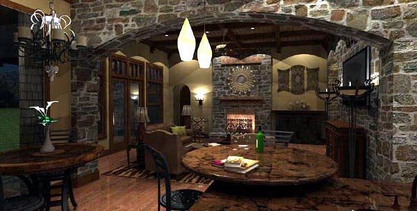 Cottage, Craftsman, European, Tuscan House Plan 65872 with 4 Beds, 4 Baths, 3 Car Garage Picture 22