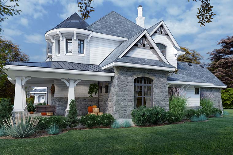 Cottage, Craftsman, European, Tuscan House Plan 65872 with 4 Beds, 4 Baths, 3 Car Garage Picture 5