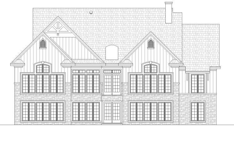 Traditional House Plan 65974 with 4 Beds, 3 Baths, 2 Car Garage Picture 4