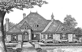 Plan Number 66052 - 2798 Square Feet
