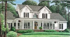 Plan Number 67122 - 3619 Square Feet