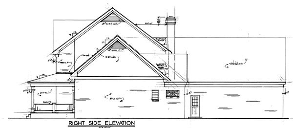 Country House Plan 67126 with 4 Beds, 3 Baths, 3 Car Garage Picture 1