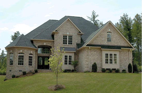 European, Traditional House Plan 68467 with 4 Beds, 5 Baths, 3 Car Garage Elevation