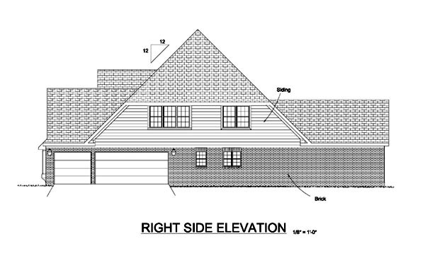 European, Traditional House Plan 68467 with 4 Beds, 5 Baths, 3 Car Garage Picture 2
