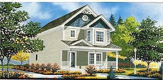 Southern House Plan 70409 with 3 Beds, 2 Baths Elevation