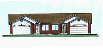 Traditional Multi-Family Plan 70461 with 10 Beds, 8 Baths, 4 Car Garage Elevation