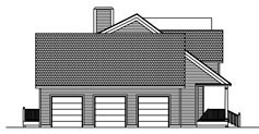 House Plan 71902 with 3 Beds, 3 Baths, 3 Car Garage Picture 2
