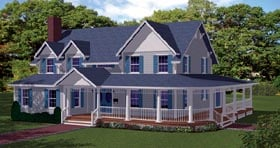 Plan Number 71903 - 4808 Square Feet