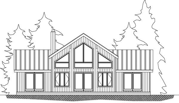 House Plan 71909 with 3 Beds, 3 Baths Picture 1