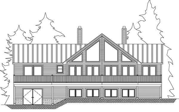 Cottage, Country House Plan 71910 with 3 Beds, 2 Baths Picture 1