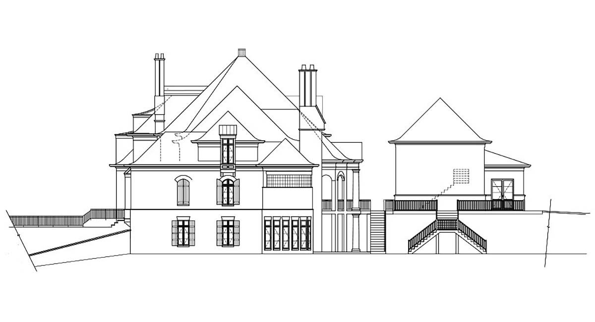 European, Greek Revival House Plan 72126 with 7 Beds, 9 Baths, 5 Car Garage Picture 1