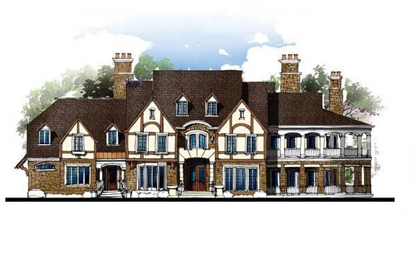 Colonial, Greek Revival House Plan 72127 with 4 Beds, 6 Baths, 3 Car Garage Picture 1