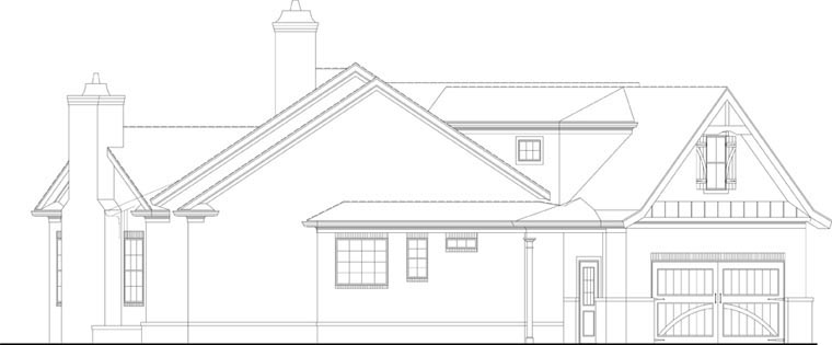 Ranch House Plan 72168 with 3 Beds, 3 Baths, 2 Car Garage Picture 2