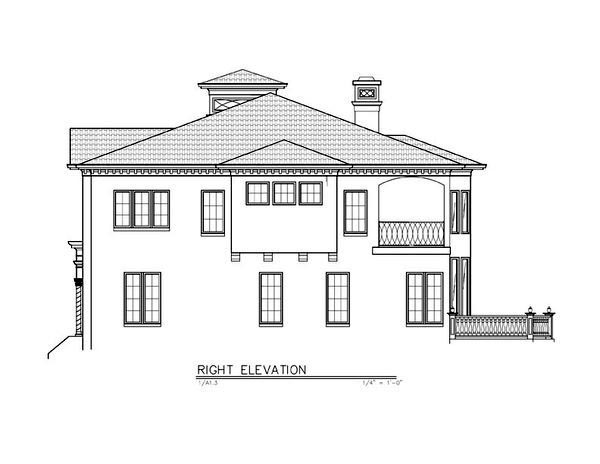 Greek Revival House Plan 72218 with 4 Beds, 4 Baths, 3 Car Garage Picture 2