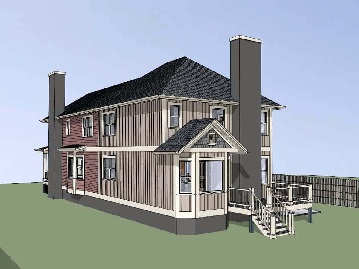 Bungalow Multi-Family Plan 72781 with 5 Beds, 5 Baths Picture 1