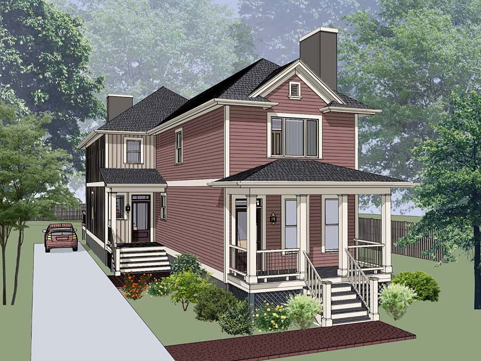 Bungalow Multi-Family Plan 72781 with 5 Beds, 5 Baths Picture 3