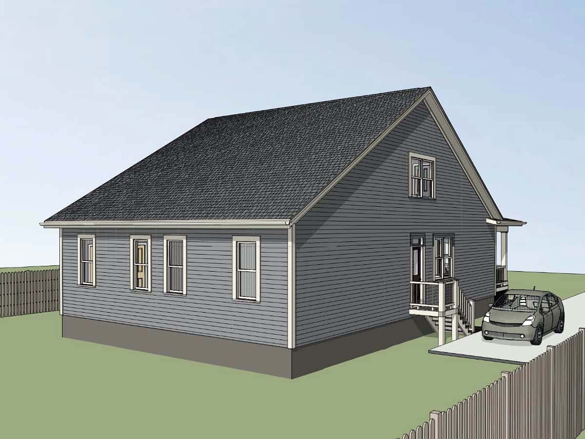 Multi-Family Plan 72786 with 4 Beds, 4 Baths Picture 2