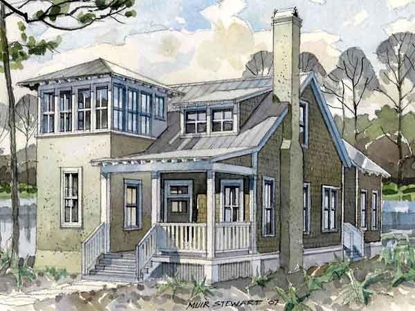 Historic, Southern House Plan 73709 with 4 Beds, 4 Baths Picture 20