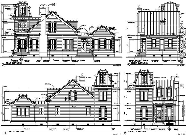 Historic, Italian, Victorian House Plan 73730 with 3 Beds, 3 Baths Rear Elevation