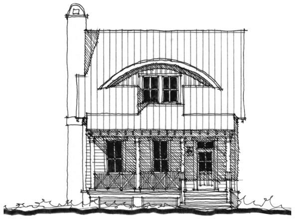 Historic, Southern House Plan 73742 with 3 Beds, 3 Baths Elevation