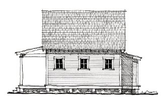 Historic House Plan 73797 with 1 Beds, 1 Baths Picture 1