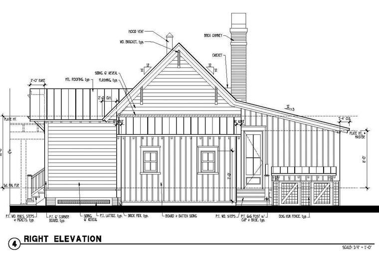 Country, Historic House Plan 73909 with 1 Beds, 1 Baths Picture 2