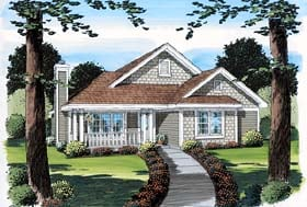 Plan Number 74009 - 1573 Square Feet