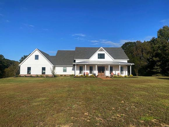 Country, Farmhouse, Traditional House Plan 74668 with 3 Beds, 4 Baths, 2 Car Garage Elevation