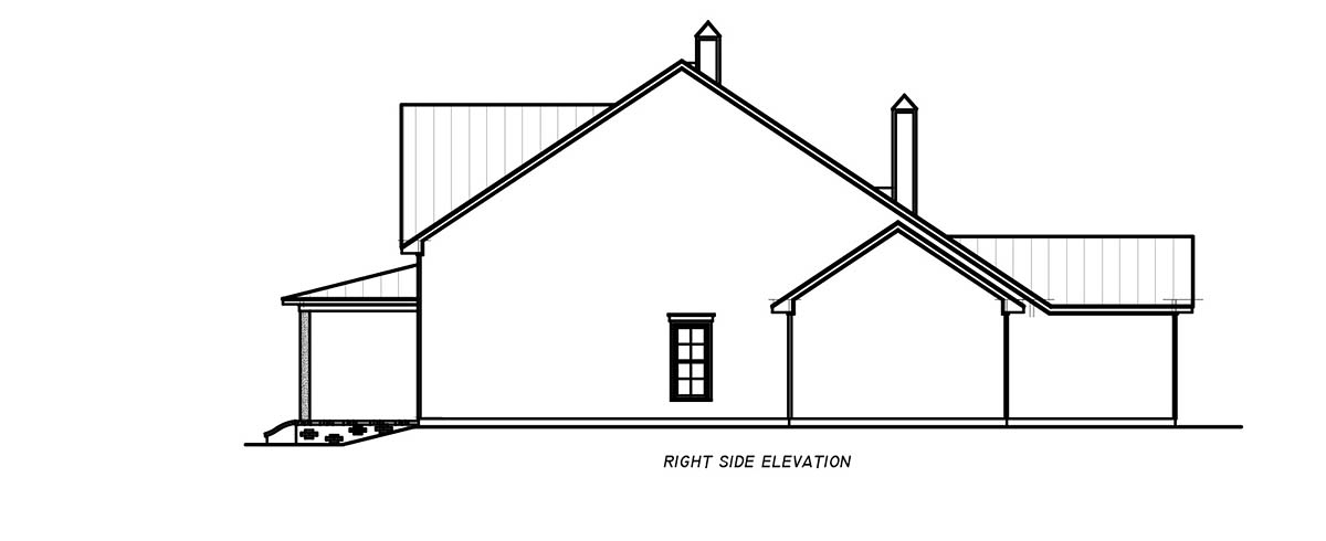 Country, Farmhouse, Traditional House Plan 74668 with 3 Beds, 4 Baths, 2 Car Garage Picture 1