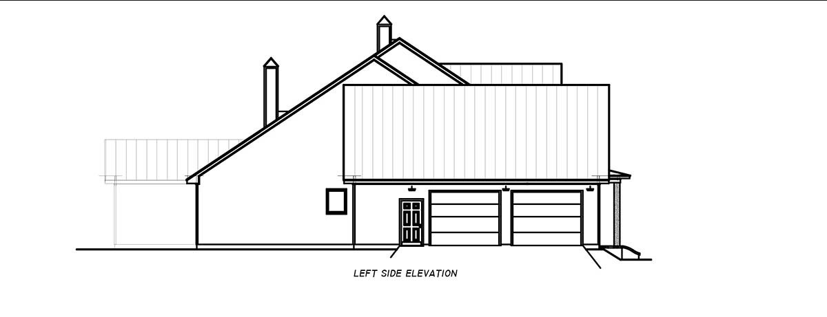 Country, Farmhouse, Traditional House Plan 74668 with 3 Beds, 4 Baths, 2 Car Garage Picture 2