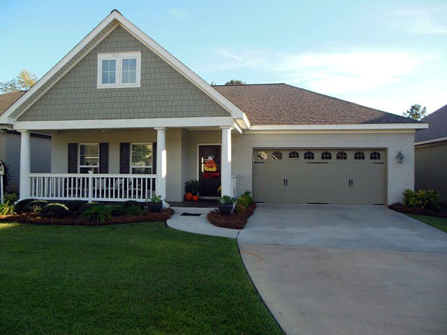 Bungalow, Country, Craftsman, Southern House Plan 74755 with 3 Beds, 2 Baths, 2 Car Garage Elevation