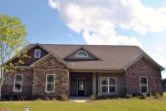 Bungalow, Country, Traditional House Plan 74757 with 3 Beds, 3 Baths, 2 Car Garage Elevation