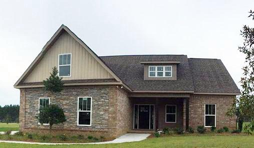 Country, Craftsman, Southern House Plan 74758 with 3 Beds, 3 Baths, 2 Car Garage Elevation