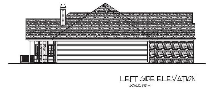 Craftsman, European, Ranch House Plan 74812 with 3 Beds, 4 Baths, 3 Car Garage Picture 1