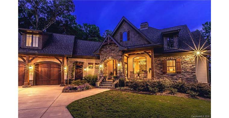 Cottage, Craftsman, Tuscan House Plan 75134 with 4 Beds, 4 Baths, 2 Car Garage Picture 1