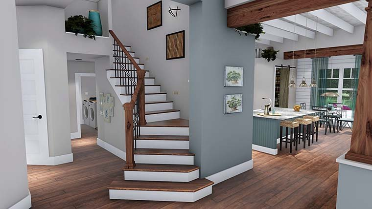 Cottage, Country, Farmhouse, Southern, Traditional House Plan 75152 with 3 Beds, 4 Baths, 2 Car Garage Picture 10