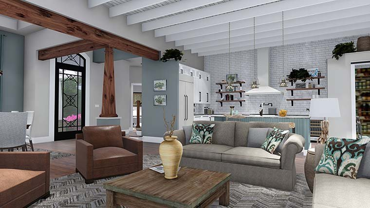 Cottage, Country, Farmhouse, Southern, Traditional House Plan 75152 with 3 Beds, 4 Baths, 2 Car Garage Picture 15