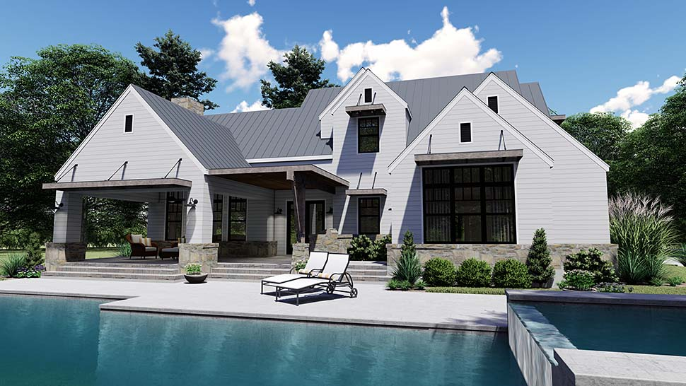 Cottage, Country, Farmhouse, Southern House Plan 75155 with 4 Beds, 4 Baths, 2 Car Garage Picture 8