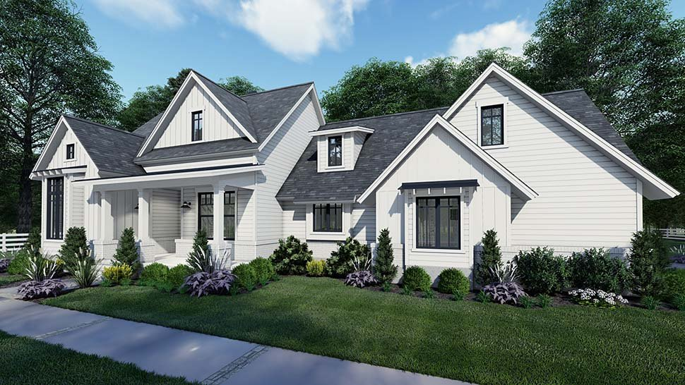Country, Craftsman, Farmhouse, Southern House Plan 75159 with 3 Beds, 2 Baths, 2 Car Garage Picture 1